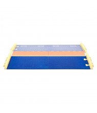 """Checkers 1-Channel 2.25"""" Linebacker Cable Protectors & Components (Ramp highlighted)"""