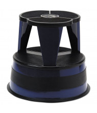 Cramer 2 Step Rolling Step Stool, Steel, Navy