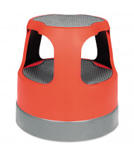 Cramer 2 Step Rolling Step Stool, Plastic, Red