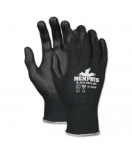 Memphis Kevlar 9178NF Gloves, Kevlar/Nitrile Foam, Black, Small
