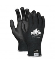 Memphis Kevlar 9178NF Gloves, Kevlar/Nitrile Foam, Black, Medium