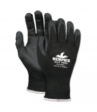 Memphis Cut Pro 92720NF Gloves, Medium, Black, HPPE/Nitrile Foam