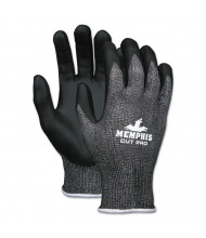 Memphis Cut Pro 92723NF Gloves, Salt & Pepper, Medium, 12/Pair