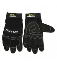 Memphis Cheetah 935CH Gloves, Large, Black