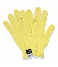 Memphis 9370 Dupont Kevlar String Knit Gloves, 7 gauge, Yellow, Medium, 12/Pair