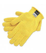 Memphis 9370 Dupont Kevlar String Knit Gloves, 7 gauge, Yellow, X-Large, 12/Pair
