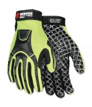 Memphis Cut Pro MC500 Gloves, High Vis Lime/Black, Medium
