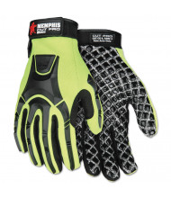 Memphis Cut Pro MC500 Gloves, High Vis Lime/Black, X-Large