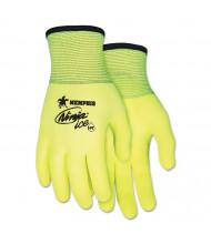 Memphis Ninja Ice Gloves, Medium, High Vis Lime, 12/Pair