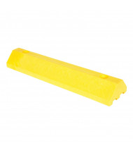 "Vestil 24"" L Recycled Plastic Car Stop (in yellow)"