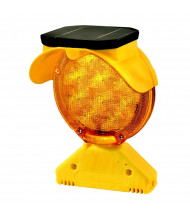 Checkers Safety Group Type B Solar Barricade Light (Shown in Amber)