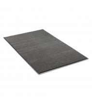Crown Rely-On 2' x 3' Vinyl Back Polypropylene Indoor Wiper Floor Mat, Charcoal