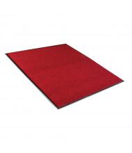 Crown Rely-On 3' x 5' Vinyl Back Polypropylene Indoor Wiper Floor Mat, Castellan Red