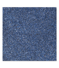 """Crown Rely-On Olefin Indoor Wiper Mat, 36"""" x 60"""", Marlin Blue"""