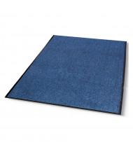 Crown Rely-On 4' x 6' Vinyl Back Polypropylene Indoor Wiper Floor Mat, Marlin Blue