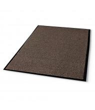 Crown Rely-Crown Rely-On 4' x 6' Vinyl Back Polypropylene Indoor Wiper Floor Mat, WalnutOlefin Indoor Wiper Mat, 4' x 6', Walnut