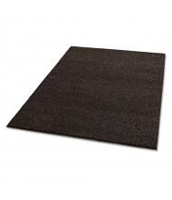 Crown Spaghetti 4' x 6' Polypropylene Back Vinyl-Loop Scraper Floor Mat, Brown