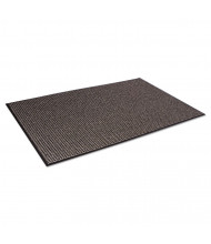 "Crown Oxford Wiper Mat, 48"" x 72"", Black/Brown"