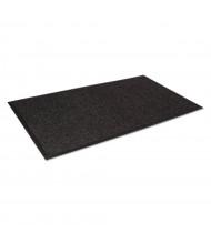 """Crown Super-Soaker 45"""" x 68"""" Rubber Back Polypropylene Indoor Wiper Floor Mat, Charcoal"""