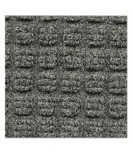 """Crown Super-Soaker Wiper Mat w/Gripper Bottom, Polypropylene, 48"""" x 72"""", Medium Gray"""