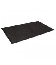 """Crown Super-Soaker Wiper Mat w/Gripper Bottom, Polypropylene, 34"""" x 58"""", Charcoal"""