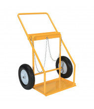 Vestil CYHT-2 Double Cylinder Hand Truck with Chains