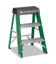 Louisville 3 Step Folding Step Stool, Green