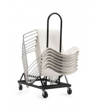 Global 6715 Dolly for Popcorn Series Chairs
