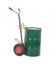 Vestil Tilt Back 30 & 55-Gallon Drum Trucks, 1000 lb Load (Shown with Pneumatic Wheels)