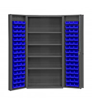 Durham Steel Box Door Bin Storage Cabinets, Hook-On Bins