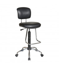 Office Star Work Smart Teardrop Footrest Economical Chair