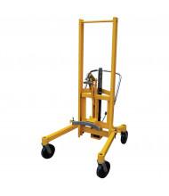 Vestil DCR-880-H-HP Mechanical Drum Transporter 880 lb Load, Foot Pump
