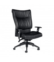 Global Softcurve 4690LM-3 High-Back Multi-Tilter Bonded Leather Office Chair