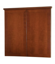 DMI Belmont 4 ft. W x 4 ft. H Presentation Conference Room Cabinet, Cherry