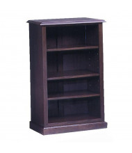 DMI Governors 3-Shelf Bookcase, Mahogany