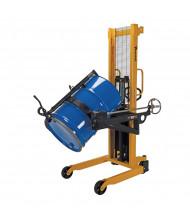 "Vestil 550 lb Load 62"" H Lift Carrier/Rotator Drum Handlers (Manual Model Shown)"