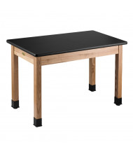 "NPS 30"" H Laminate Top Science Lab Table"