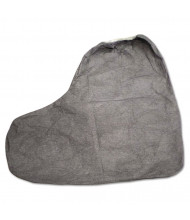 "DuPont Tyvek FC Boot Cover, 16"", One Size Fits Most, Gray, 100/Pack"