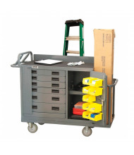 "Durham Steel 53"" x 18"" 1200 lbs Capacity Steel Mobile Workbench"