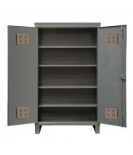 Durham Steel 4-Shelf 12 Gauge Wardrobe Cabinets for Outdoor Us