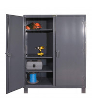 Durham Steel 12 Gauge Double Shift Cabinets (6-Shelf Models)