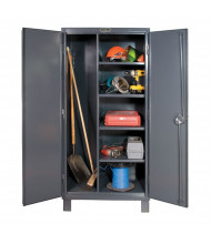 Durham Steel 4-Shelf 12 Gauge Maintenance Cabinet