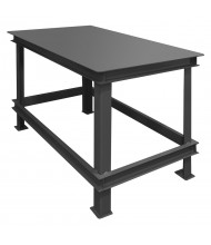 Durham Steel Machine Table Heavy-Duty Steel Workbenches 14,000 lb Capacity
