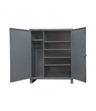 Durham Steel 4-Shelf 12 Gauge Wardrobe Cabinets