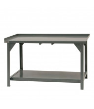 "Durham Steel 30"" D 4,000 lbs Capacity Workbench"