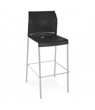 OFM Essentials E2000 Plastic Low-Back Stool (Shown in Black)