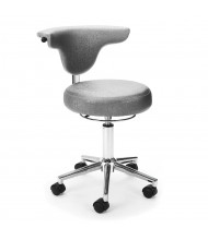OFM Elements 910 Anti-Microbial Vinyl Capreni Anatomy Chair (Shown in Grey)