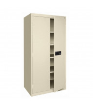 Sandusky Elite Storage Cabinets, Electronic Lock, Assembled (Shown in Putty)