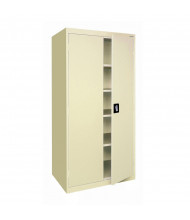 Sandusky Elite Storage Cabinets, Assembled (Recessed Handle Shown in Putty)