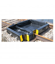 Eagle SpillNest 6' W x 4' L Rail Spill Containment Berm 120 Gal